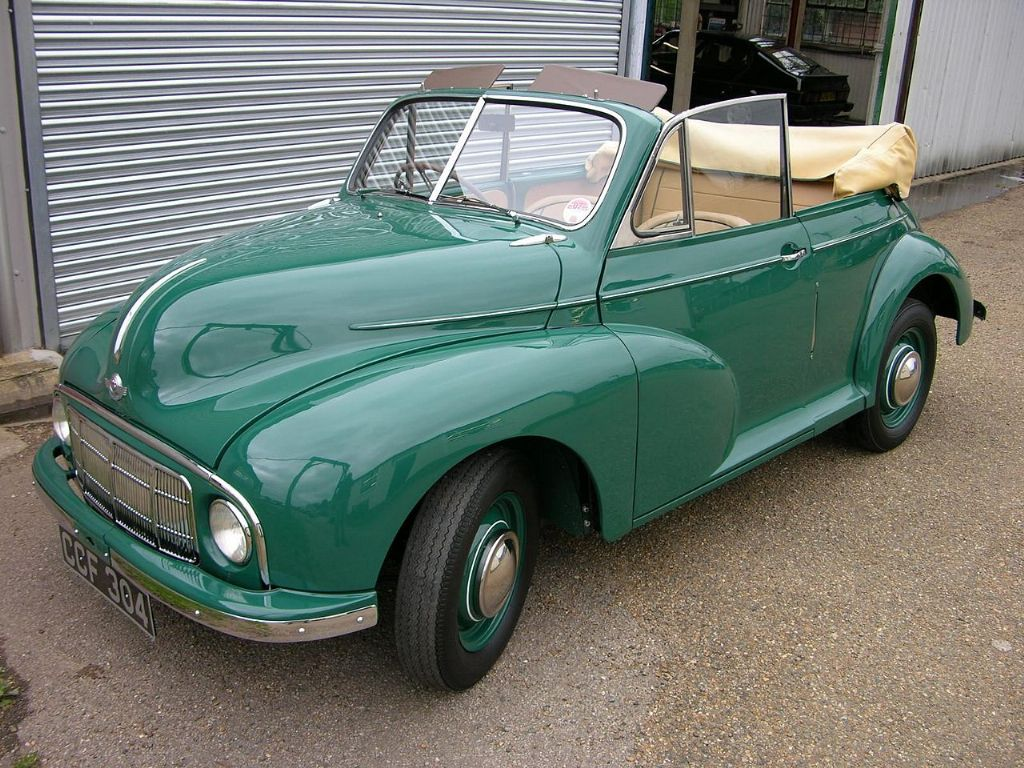 Morris Minor MM convertible