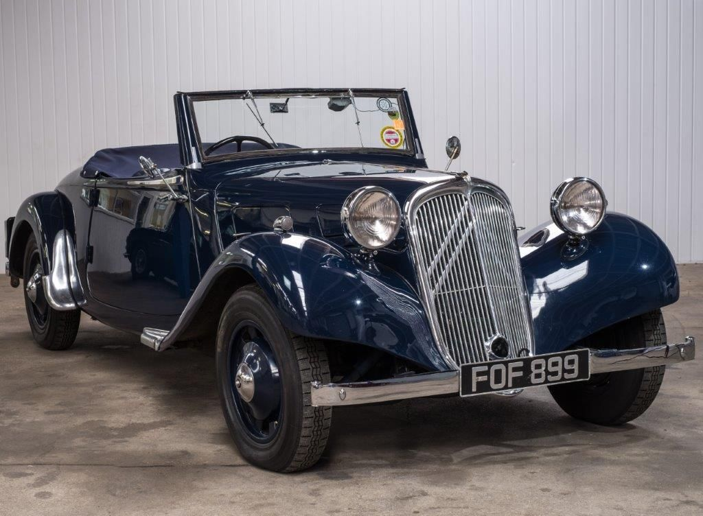 1939 Citroen Light 15 Roadster to feature at ACA