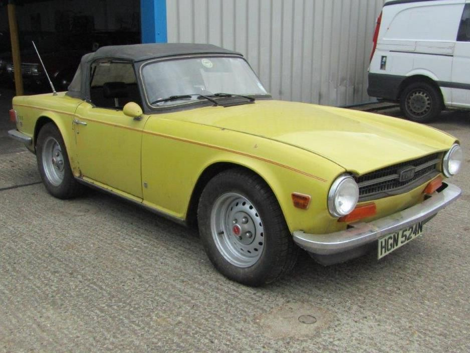 One owner TR6 to be sold at ACA this weekend