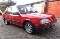 1991 Peugeot 309 GTI with only 131 miles achieves a record at Barons