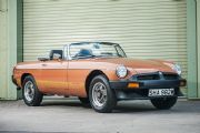 No mileage MGs to feature at Silverstone Auctions